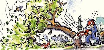 Baumfällmelder